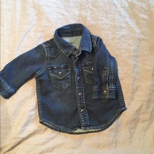 Other - BABY GAP Denim Snap Shirt
